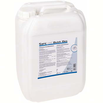 SAFELINE Quick Des Schnelldesinfektion Neutral - 10 Liter (75899)